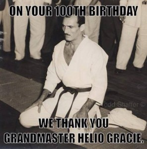 helio 296x300 Helio Gracie turns 100!